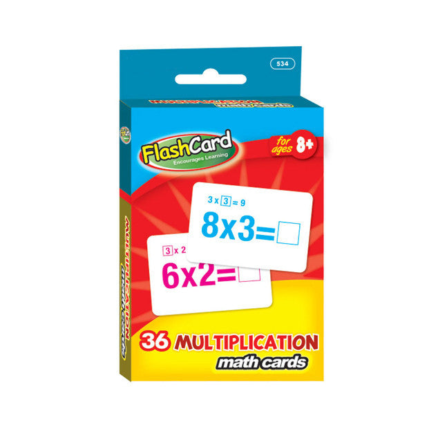 Wholesale School Supplies Multiplication Flash Cards Sold in Bulk