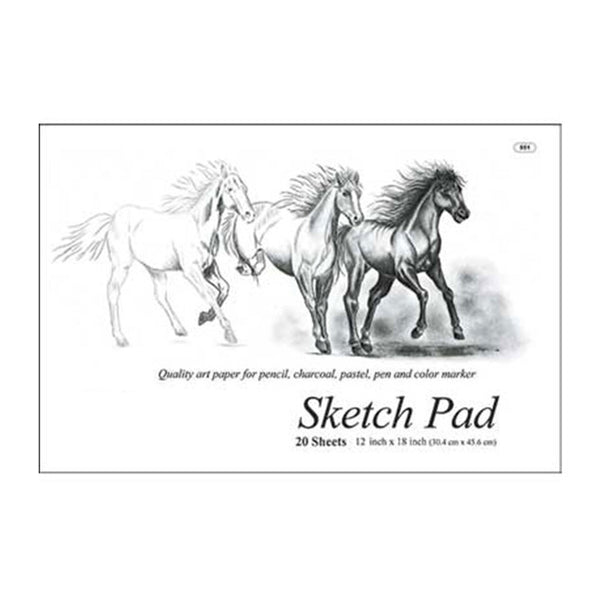 Wholesale School Supplies Premium Sketch Pad Sold in Bulk