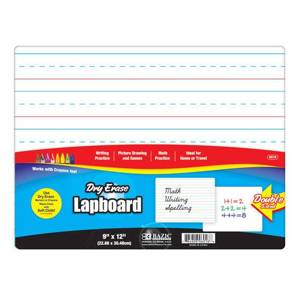 Wholesale School Supplies Dry Erase Lined Board Sold in Bulk