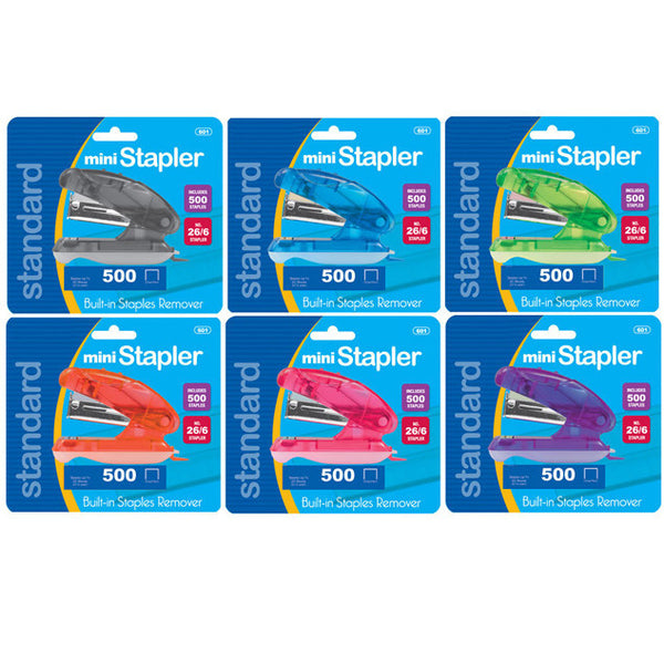 Mini Stapler with Staples in Bulk School Supplies