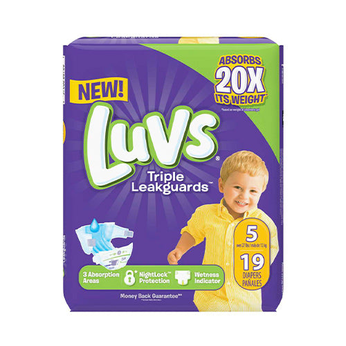 Luvs Diapers - Convenience Packs