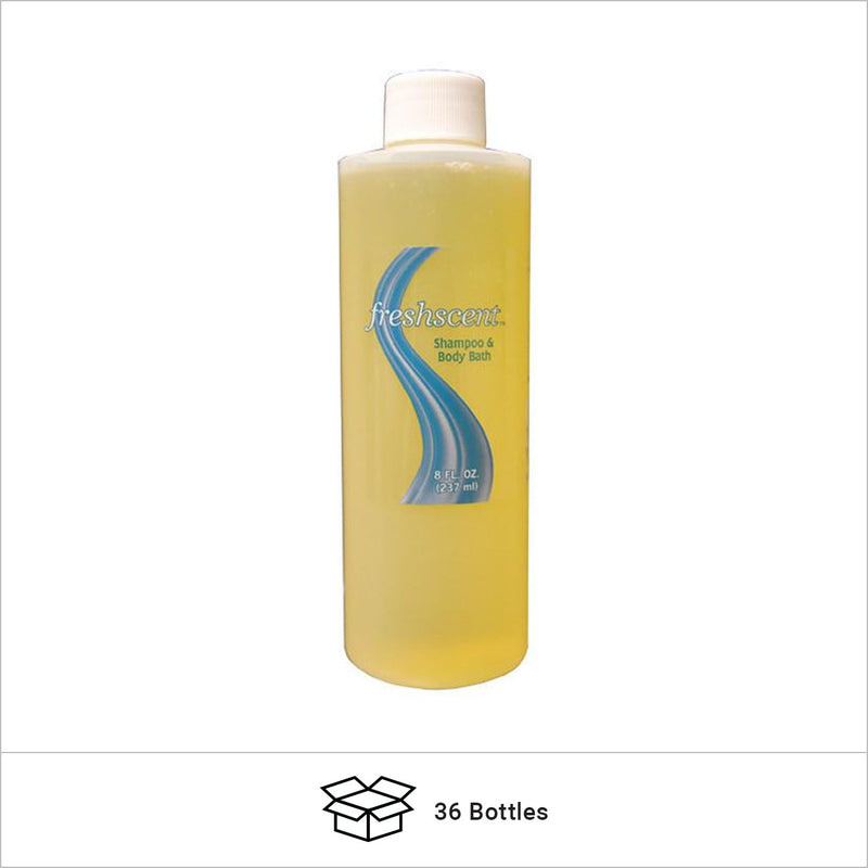 Bulk 8 Ounce Shampoo and Body Bath Sold at Wholesale