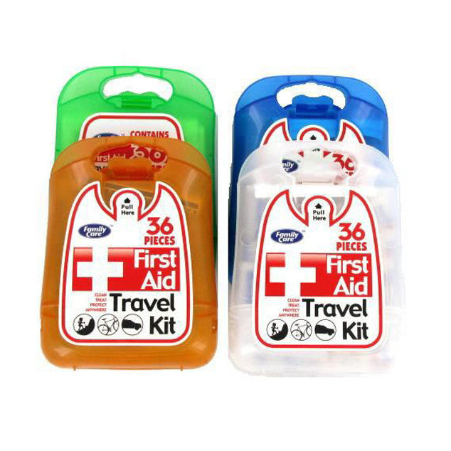 Bulk First Aid Travel Kits for Personal Care