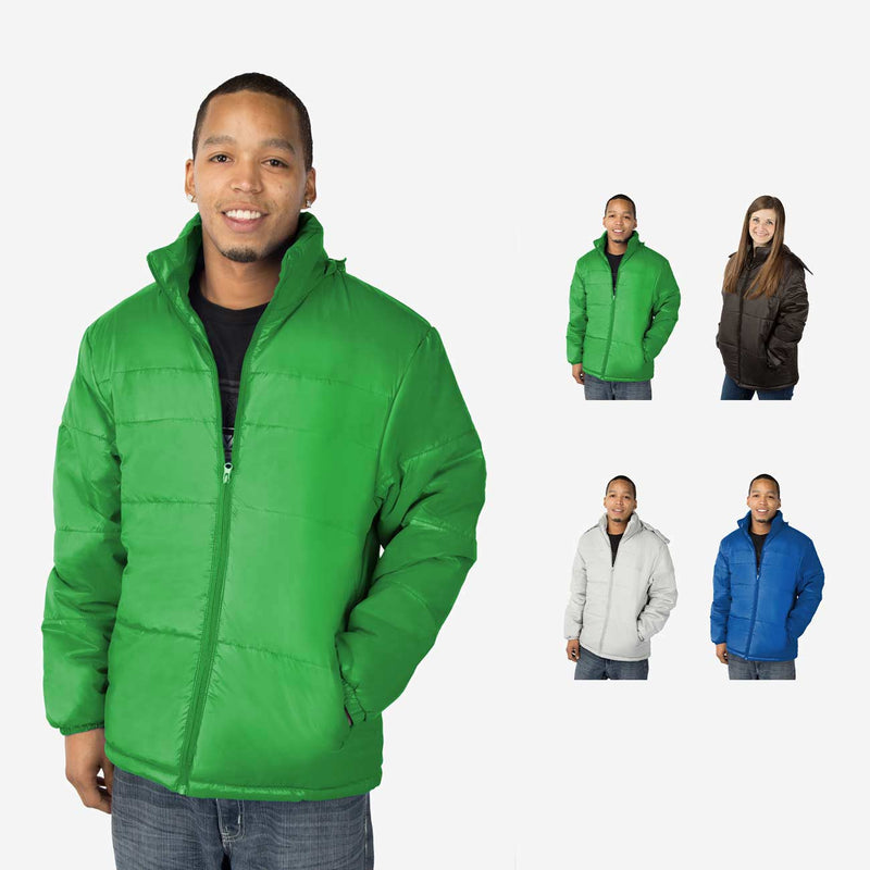 Classic Combo Wholesale Adult Winter Coat Sold in Bulk