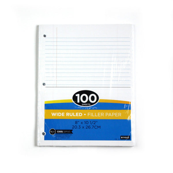 Loose Leaf Paper Sold as Bulk School Supplies at Wholesale