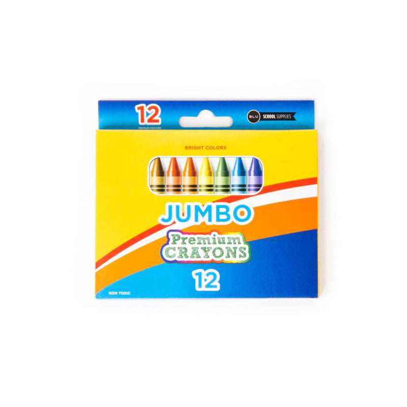 Jumbo Crayons Sold at Wholesale in Bulk