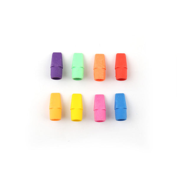 Wholesale Classroom Supplies Pencil Cap Erasers Sold in Bulk