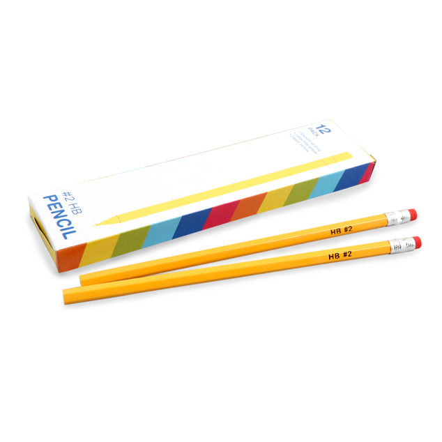 #2 Yellow Pencil, 12pk
