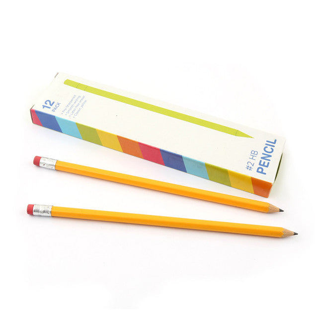 #2 Pre-Sharpened Yellow Pencil