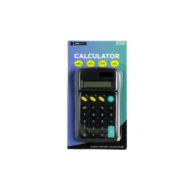 Pocket Size Calculator great for School