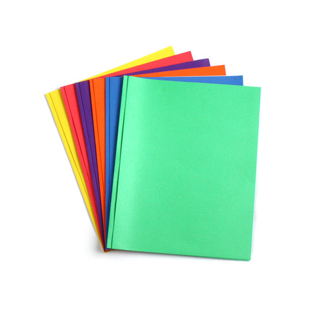 Wholesale School Supplies Paper with Brads Folders Sold in Bulk