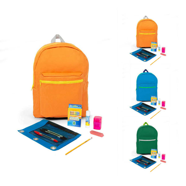 PreK-5th Student Kit in 16 inch Standard Backpack
