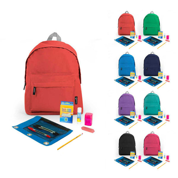 PreK-5th Student Kit in 15 inch Economy Backpack