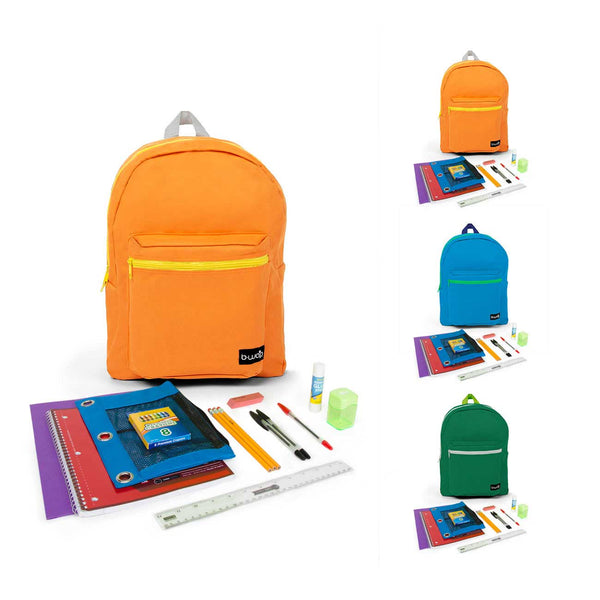 "PreK-5th Student Kit (21 Piece) in 16"" Standard Backpack"