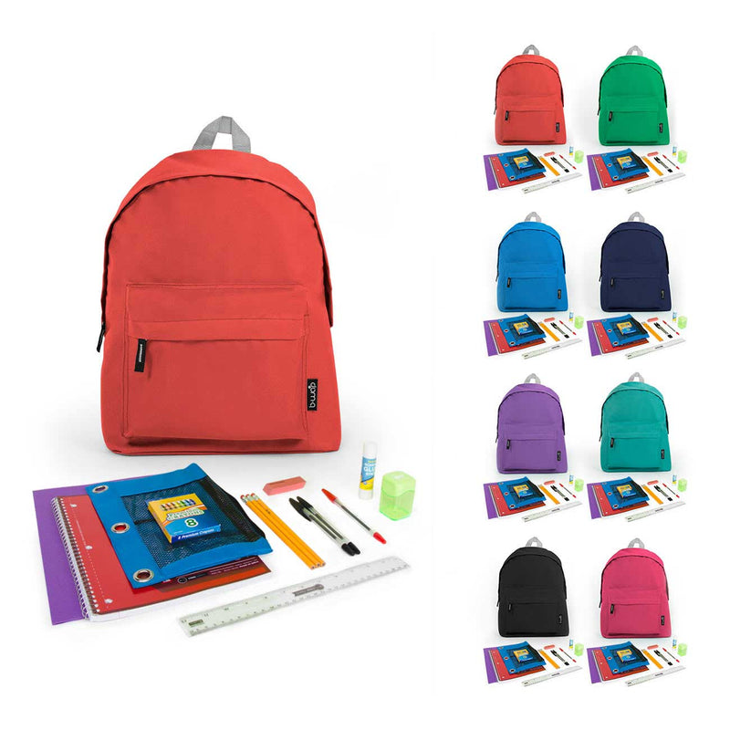 Bulk PreK-5th Student Kit in 15 inch Economy Backpack