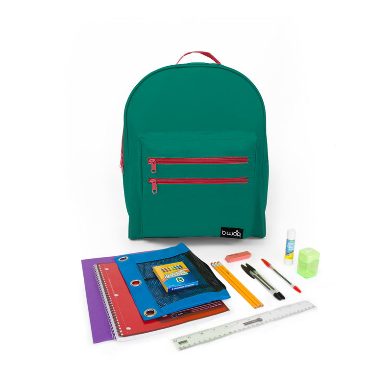 "PreK-5th Student Kit (21 Pieces) in 16"" Classic Backpack"