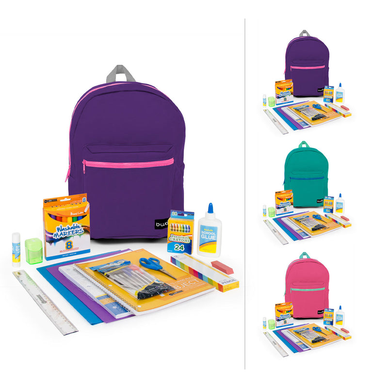 "1st-5th Student Kit (62 Piece) in 16"" Standard Backpack"