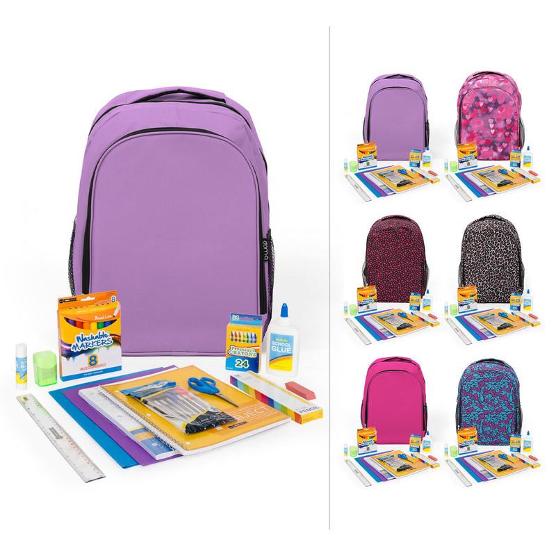 "1st-5th Student Kit (62 Piece) in 17"" Intermediate Backpack"