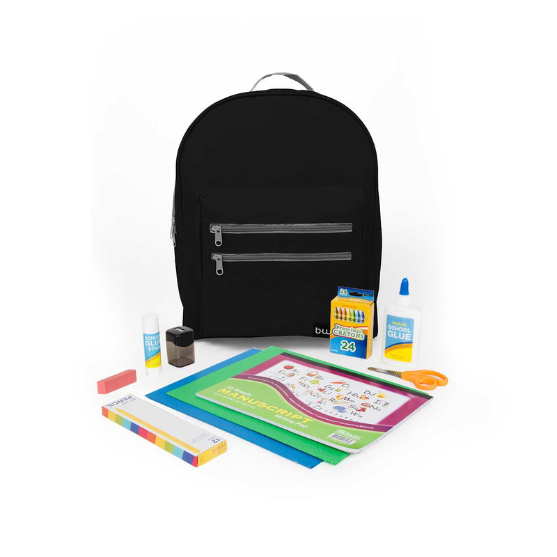 "Kindergarten Kit (44 Piece) in 16"" Classic Backpack"