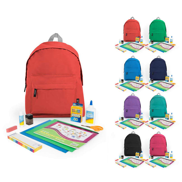 "Kindergarten Kit (44 Piece) in 15"" Economy Backpack"