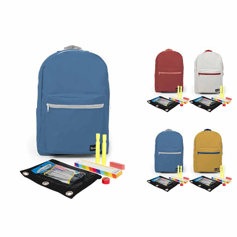 "6th-12th Grade Student Kit (25 Piece) in 18"" Standard Backpack"