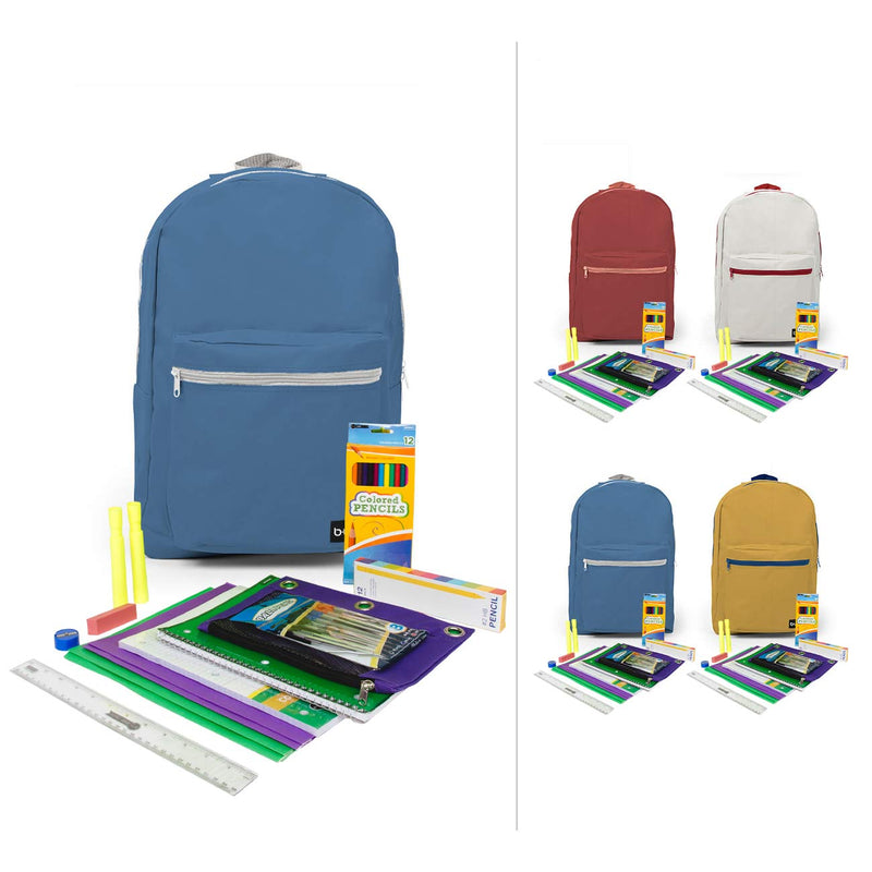 "6th-12th Student Kit (42 Piece) in 18"" Standard Backpacks"