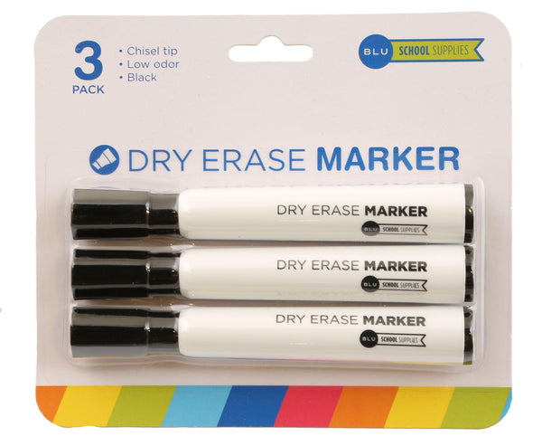 Wholesale School Supplies Black Dry Erase Markers Sold in Bulk
