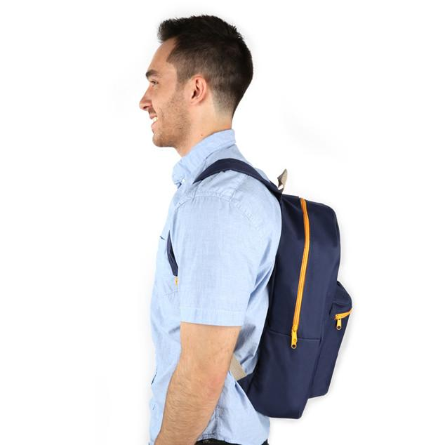 Combo 3 - BP1283 Blue Discount 18 Inch Standard Backpacks Sold in Bulk