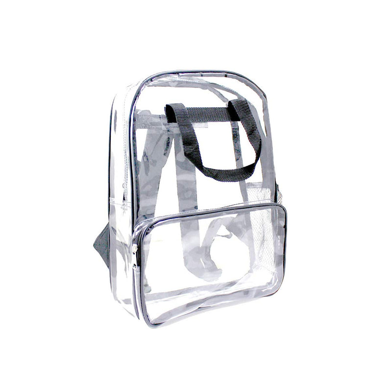 Gray Wholesale 18 inch Clear Bulk Backpacks