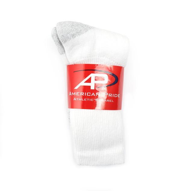 Bulk White Adult Socks Size 9 to 11