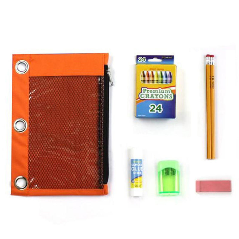 Wholesale Elementary Kit Bulk School Supplies with Crayons
