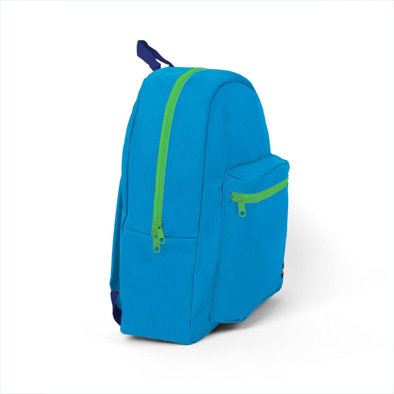 Combo 1 Blue 16 inch Standard Backpacks Sold in Bulk