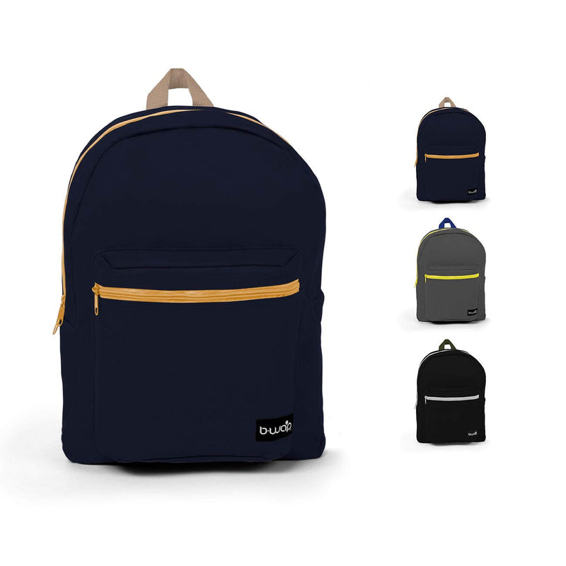 Combo 3 Wholesale 16 Inch Standard Backpacks in Bulk