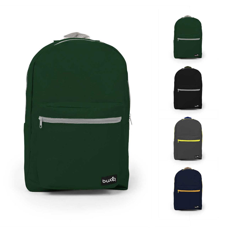 """18"""" Standard Backpacks - (24 count, assorted colors)"""