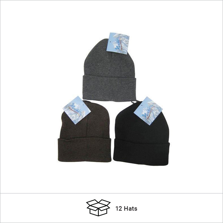 Discount Assorted Color Child Beanies Sold in Bulk