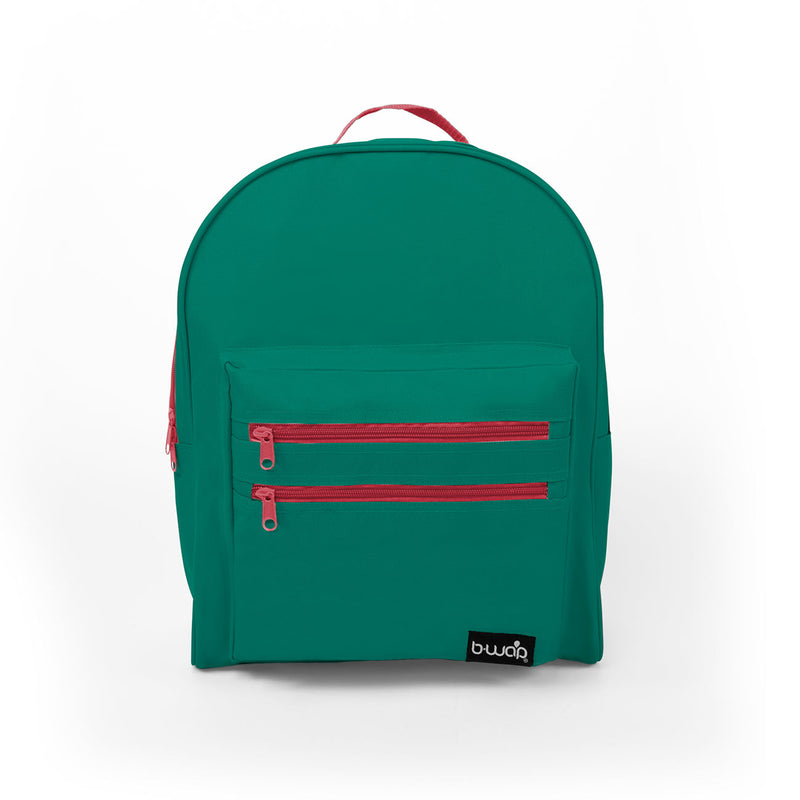 Cactus Flower Discount 16 inch Classic Backpacks Sold in Bulk