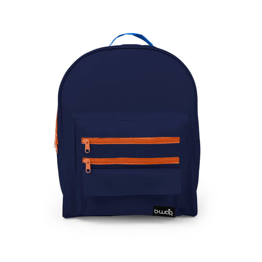 Coral Island - BP0113 Wholesale 16 inch Classic Backpacks Sold as Bags in Bulk