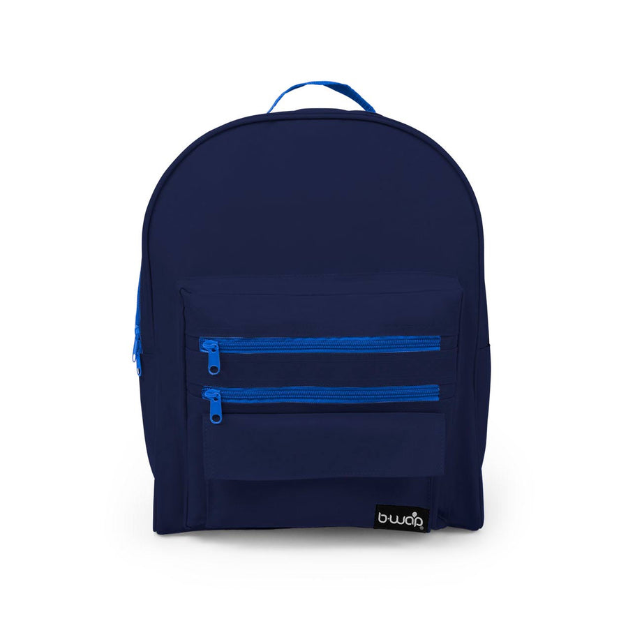 Deep Sea Blue - BP0114 Wholesale 16 inch Classic Backpacks Sold in Bulk