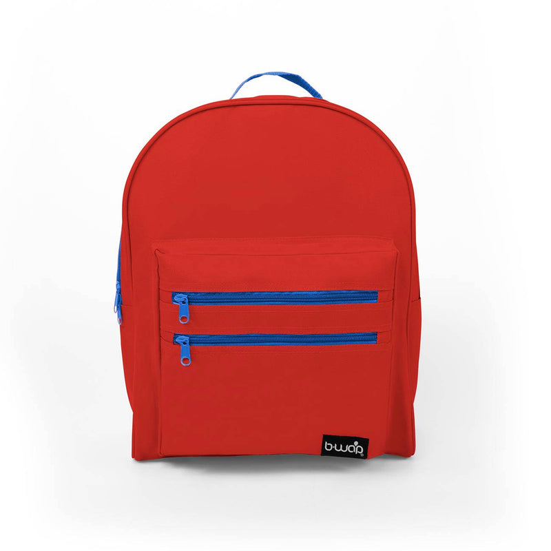 Superhero Red Wholesale 16 inch Classic Bulk Backpacks