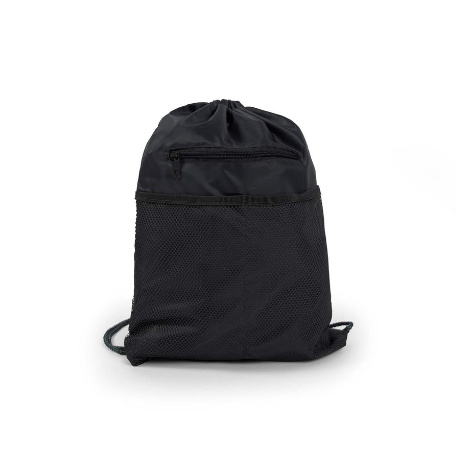 Black - BP1122 Wholesale 18 Inch Drawstring Backpacks Sold in Bulk