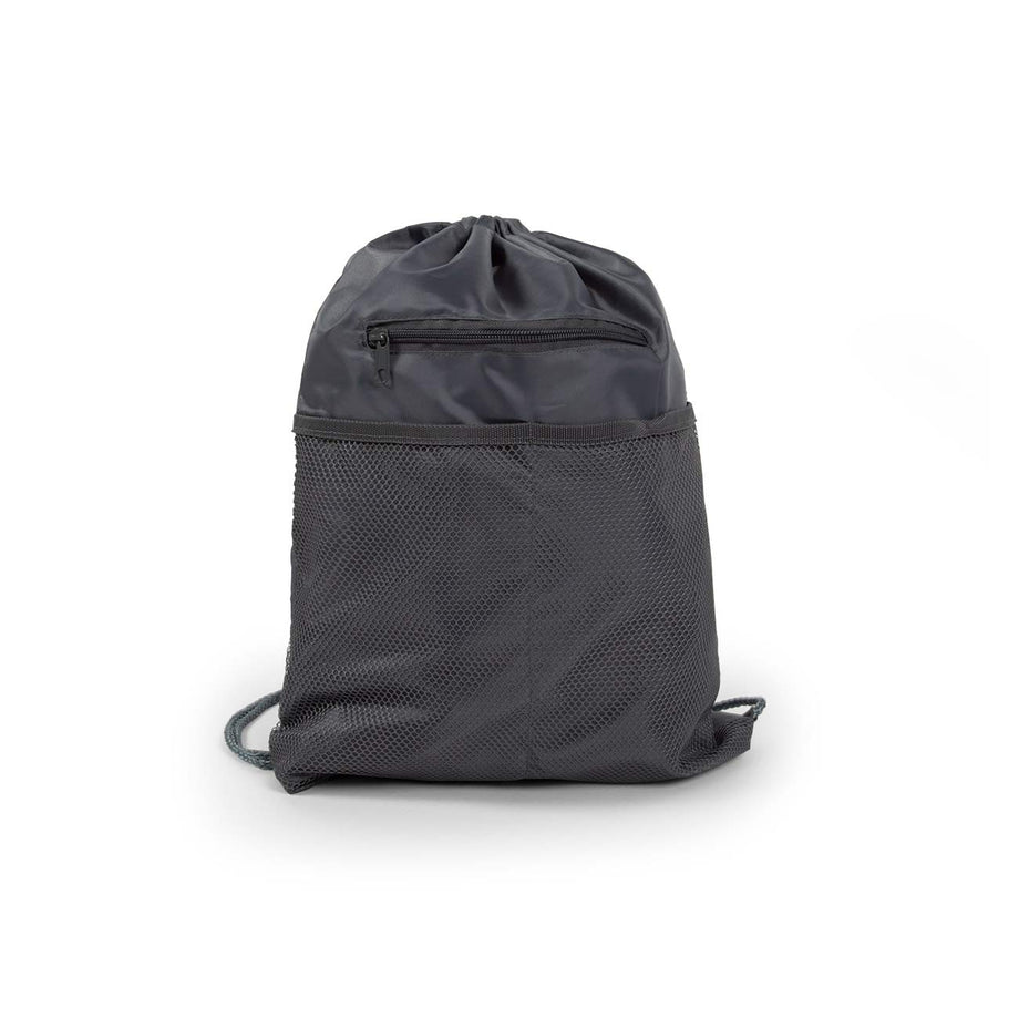 Gray - BP1121 Wholesale 18 Inch Drawstring Backpacks Sold in Bulk