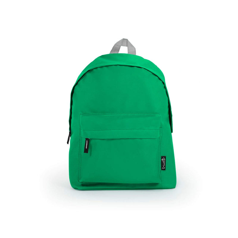 Green Wholesale Standard Backpack Sold in Bulk
