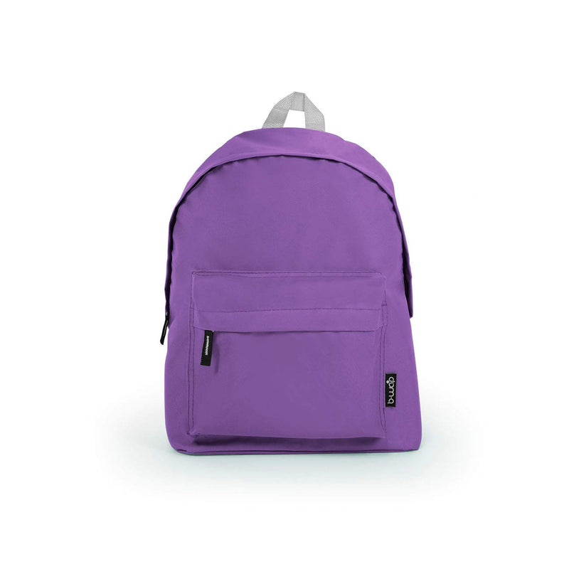 Purple Wholesale Standard Backpack Sold in Bulk