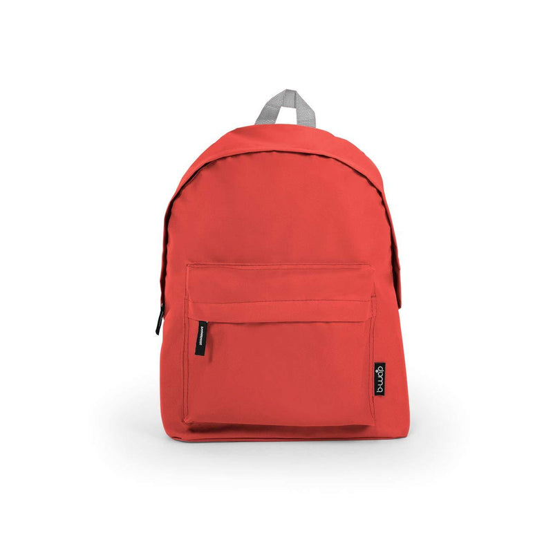 Red Wholesale Standard Backpack Sold in Bulk