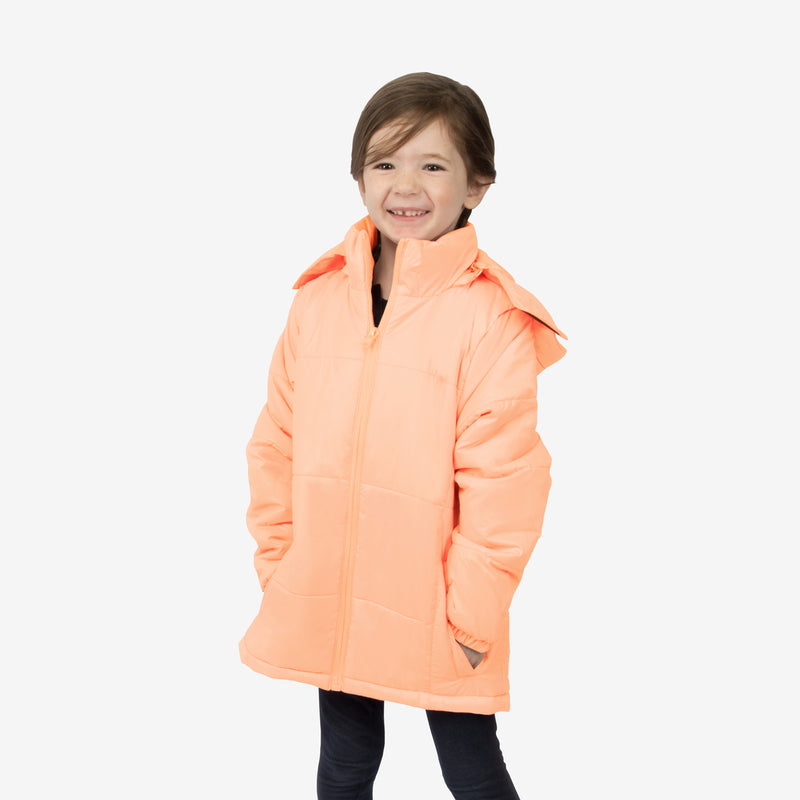 Flamingo Combo Wholesale Girl Puffer Beach Sand Coats Sold in Bulk