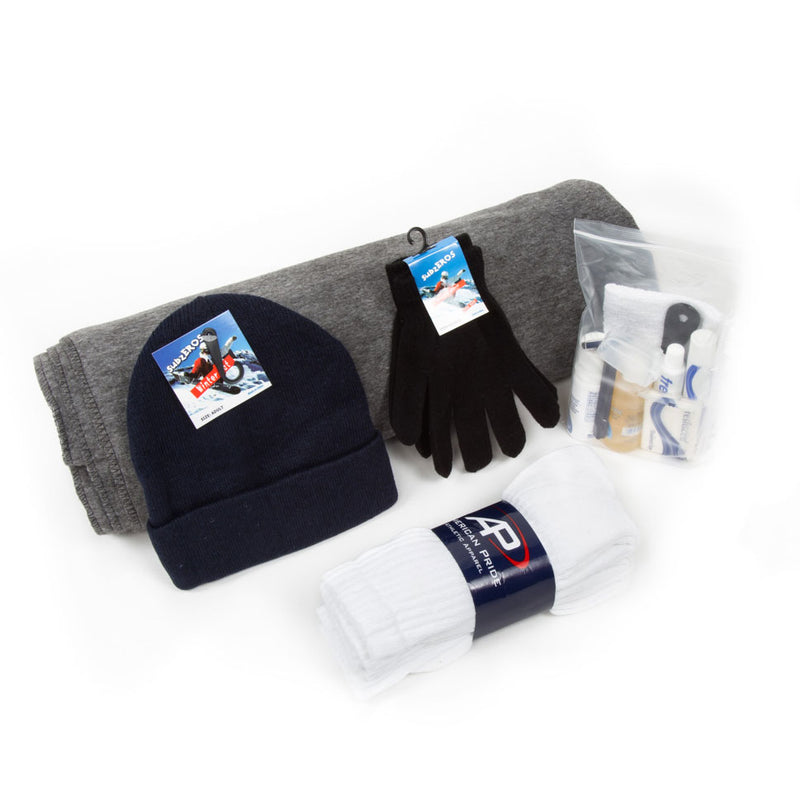 bulk homeless kits for winter