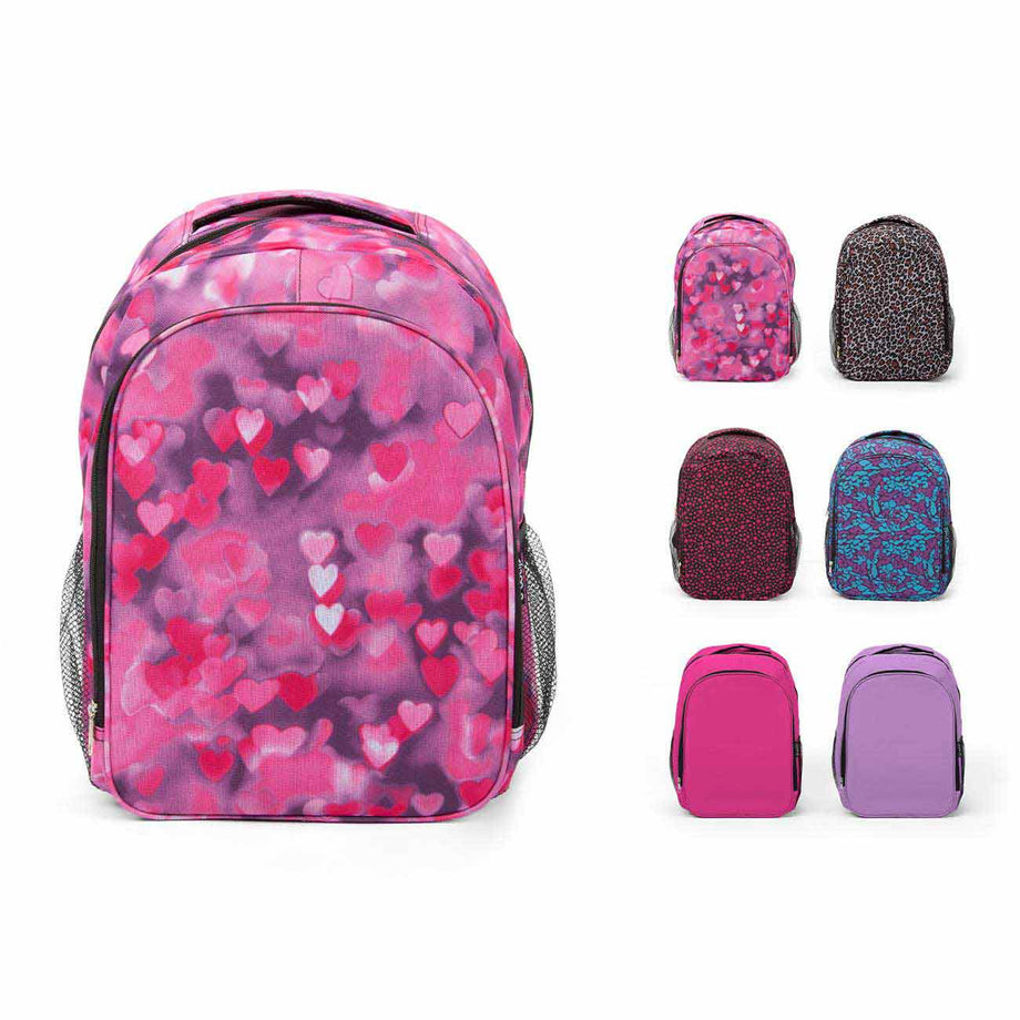 Rose Combo - BP1080 Wholesale 17 inch Intermediate Bulk Backpacks
