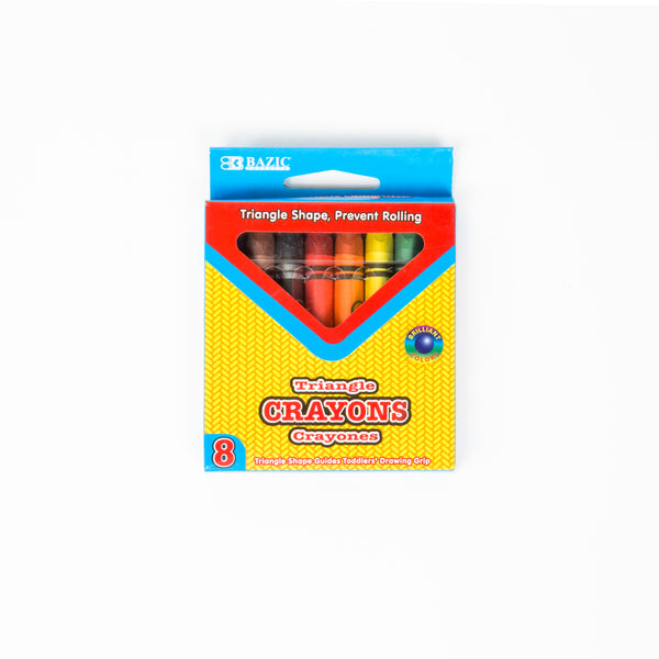 Wholesale Jumbo Triangle Crayons School Supply