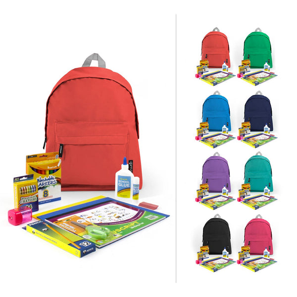 Wholesale Economy School Kit with Bags in Bulk