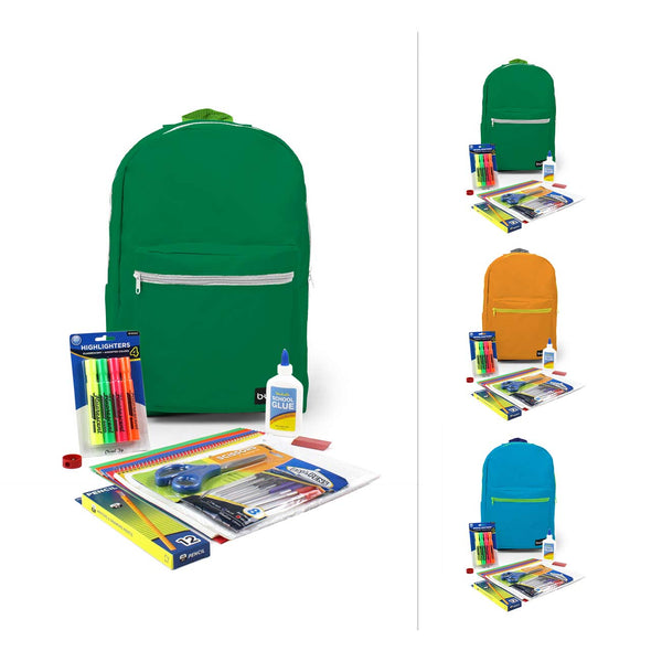Combo 1 Jr High High Kit in 18 inch Standard Backpack